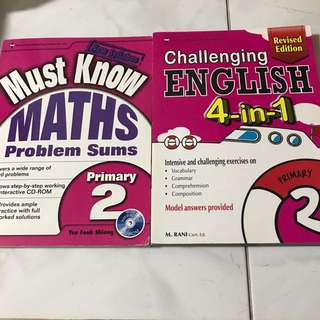 ENGLISH AND MATH WITH CD ROM