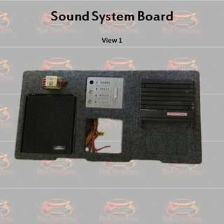 Customised Sound System Board