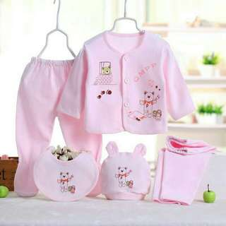 New born 5in1 set clothes