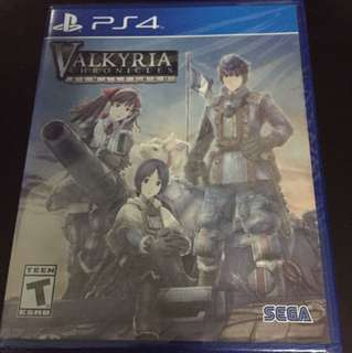 PS4 Valkyria Chronicles Remastered (Brand New)
