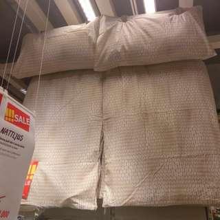 Ikea quilt cover nattljus