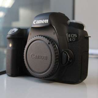 Canon 6D Complete with Box