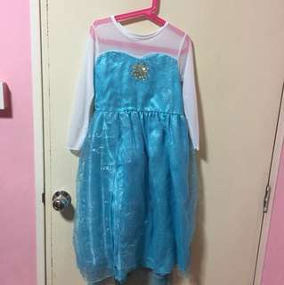Frozen dress Elsa