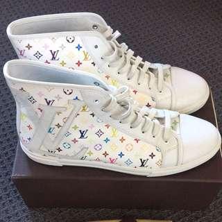 Louis Vuitton Multicolore high cut shoes sneakers