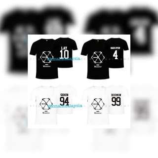 Exo-EXO SHIRT MONSTER & LUCKY ONE