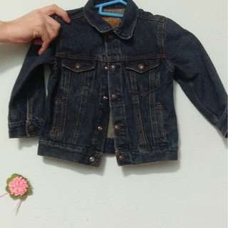 Childrens Levis Denim Jacket (preloved)  3T