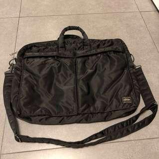 Porter 日本🇯🇵 斜揹手抽兩用袋電腦袋公事包 sling bag 2 ways bag (computer bag)