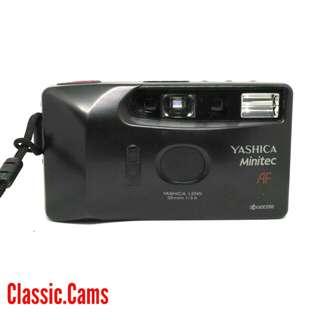 Yashica Minitec AF 35mm Film Camera