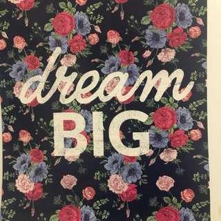 🎀Dream big poster🎀