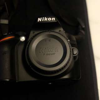 Nikon D3200 24.2 MP CMOS Digital SLR + Accessories