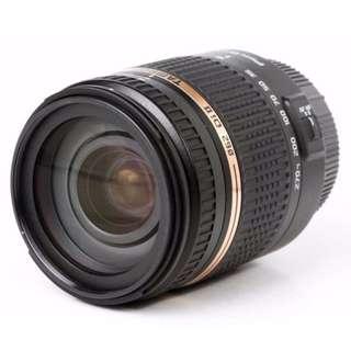 Tamron 18-270 zoom lens for Nikon