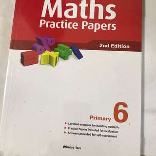 MATHS PTACTICE PAPERS PRIMARY 6