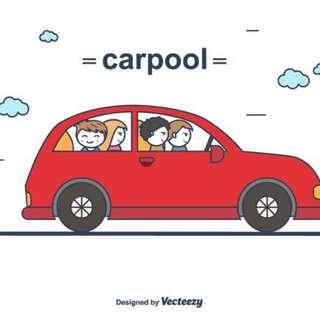Carpool hitch Sembawang to Raffles Place/ Marina Bay