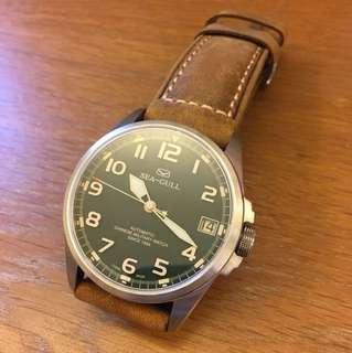 中國海鷗錶 (換了全新皮帶,只帶過一次)