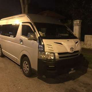 13 Seater Passenger Van with Driver