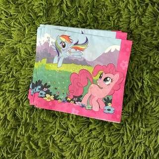 My Little Pony Party Stuffs