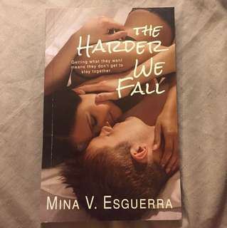 The Harder We Fall by Mina Esguerra