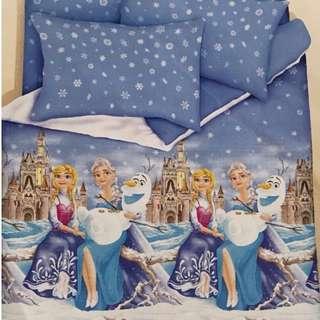 Bedsheet Cotton - Frozen (new)