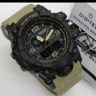 Jam tangan pria digitec 2093