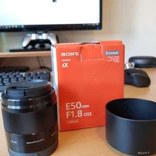 Sony E 50mm f1.8