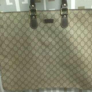 Authentic Gucci Document Bag