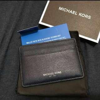 Michael Kors Navy Blue Card Holder