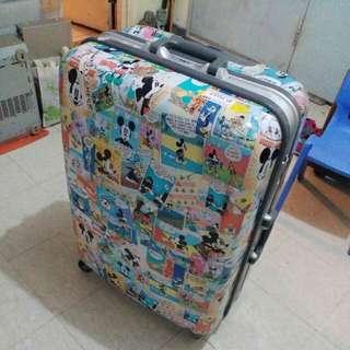 迪士尼米奇老鼠圖案 大大個行李喼