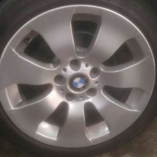 "BMW 17"" E90 wheels set of 4 with tyres"