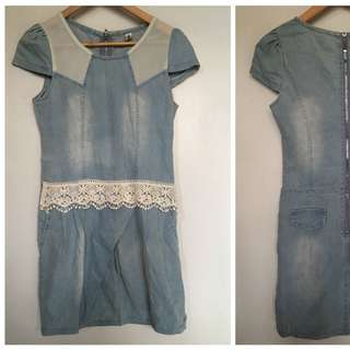 Denim Dress (S-M)