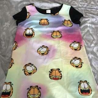 Garfield t-shirt dress