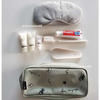 agnès b Travel Pouch Kit Toiletry Pack - Brand New!