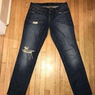 J Brand Size 23/25 waist Boyfriend Fit
