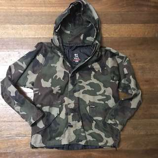 Original Vans Hoodie Military Jacket small size