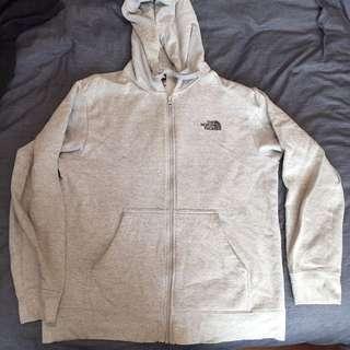 Men's North Face grey hoodie / jumper