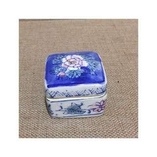 老物件 * 陶瓷蠟燭盒