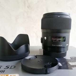 sigma 35mm f1.4 art canon mount