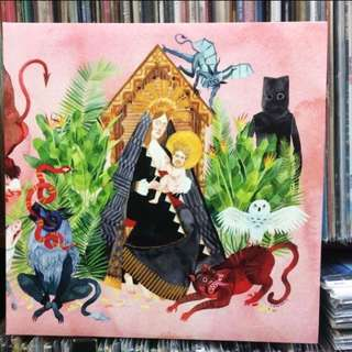 "VINYL - Father John Misty ""I Love You, Honeybear"" [SUB POP 2015]"