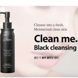 Brand New [[Make  P:rem] Black Cleansing Water