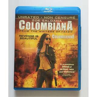 Colombiana Blu Ray