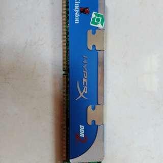 Memori Kingston HyperX DDR2 (2Gb)