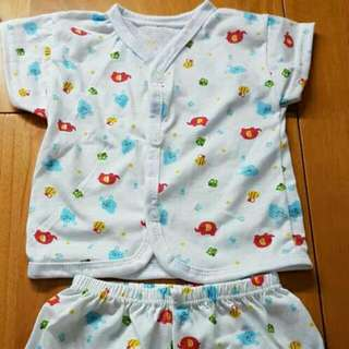 (Ready Stock) Baby Pyjama-1set