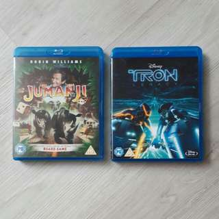 Ra 2 $9 for 2 Original Blu ray Titles Movies