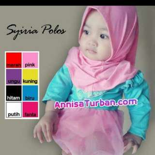 Syria baby Hijab.