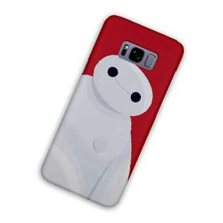 Baymax Red Samsung Galaxy S8 Custom Hard Case
