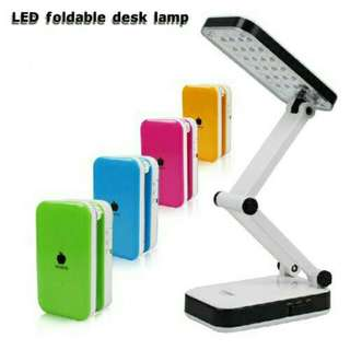 LED PORTABLE FOLDABLE RECHARGEABLE TABLE STUDY LAMP