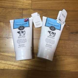 Whitening Facial Foam Milk +by Beauty Buffet