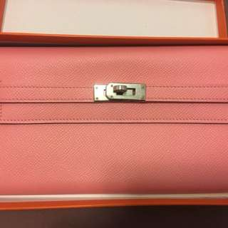 Hermes Kelly Wallet 1Q