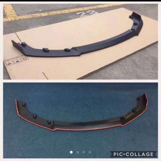 Customized Front Lip Bumper for all vehicles