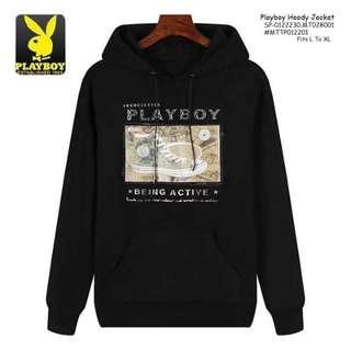 Playboy hoodie jacket fits L-XL
