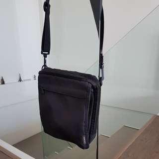 Excursion Fabric Black Sling Bag